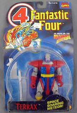 Marvel Comics Fantastic Four 4 Terrax Space Soaring Meteor Figure 1994 Toy Biz