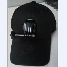 Baseball Cap Hat with Camera Easy Mount Holder for Gopro Hero 3 3+ 4 Adjustable