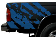 Custom Vinyl Graphics Decal Wrap Kit for 1995-2004 Toyota Tacoma TRD Ripped BLUE