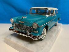Danbury Mint 1955 Chevrolet Nomad Station Wagon 1:24 Scale Die-cast Model, MIB
