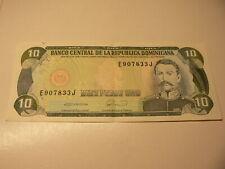Dominicana Banknote 10 Pesos 1990