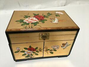 Oriental Chinese jewelry box gift