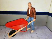 Wheelbarrow 1/10 Scale Garage Shop RC Crawler Dollhouse Accessories USA