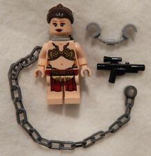 NEW LEGO STAR WARS SLAVE PRINCESS LEIA MINIFIG figure minifigure 75020 jabba