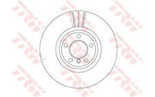 1x TRW Disco de freno delantero Ventilación interna 348mm DF6615S