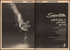 SUPERSTITION__Original 1981 Trade AD / horror poster__JAMES HOUGHTON_HEIDI BOHAY