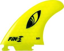 Fin-S Se-1 Honeycomb Neon Yellow 3 Fins Surfboard Fin - 3Pcs Set
