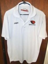 Asics Mens Shirt Oregon State Beavers Polo  - Large