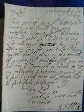 Elizabeth Capell, Countess of Essex rare als signed 1679