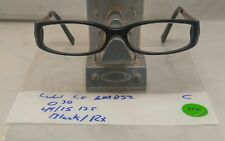 Lulu  Eyeglasses LF AM052 BLK 49/15 135 Black/ Red Frame,clear rx lens