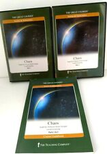 Great Courses CHAOS Parts 1 & 2 (4 DVD Set) + Course Guidebook