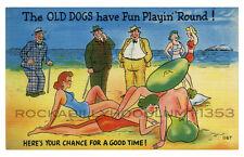 "Pin Up Poster 11"" x 17"" Retro Art Bikini beach Comic Pinup Girls"
