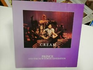"""PRINCE AND THE NEW POWER GENERATION Cream 12"""" Single 1991 Germany EX"""