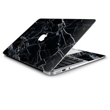 Skin Wrap for Macbook Air 11 inch  Black Marble Granite White
