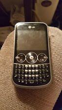 LG 900g Black & Silver - Net 10 Pre-Paid Phone.