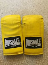 Lonsdale Boxe TAE kwon Arti marziali Guanti in giallo-media grandezza