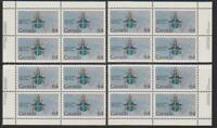 1984 Canada SC# 1031 - Papal Visit - Set of 4 Plate Blocks M-NH Lot# 1712