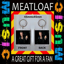 MEATLOAF -MEAT LOAF-  45X 45mm KEYRING- KEY RING –KEY CHAIN GREAT GIFT FOR FAN