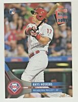 2018 Topps NATIONAL BASEBALL CARD DAY #NTCDG-2 RHYS HOSKINS RC Rookie Phillies