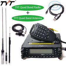 TYT TH-9800 Plus 50W Quad Band Repeater Car Mobile Radio + Quad Band Antenna Set
