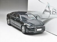 1/18 Scale AUDI A6L 2012 Diecast car model black Toy Gift New in box