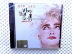 MADONNA - WHO'S THAT GIRL - ORIGINAL MOTION PICTURE SOUNDTRACK - CD SIGILLATO