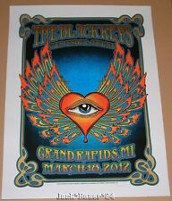 Dave Hunter Black Keys Grand Rapids Poster Print Signed Numbered Art Gigposter