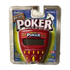 Radica Pocket Poker Handheld Game Draw Deuces 1999 New Sealed