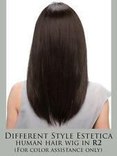EMMELINE Remy Human Hair Wig by Estetica, GENUINE, Hand-tied Mono Cap, NEW!