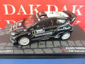 Die cast 1/43 Modellino Auto Ford Fiesta RS WRC Rally Francia 2011 J-M. Latvala