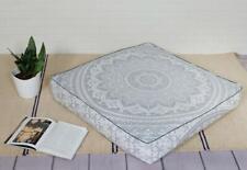 Home Decor Mandala Square CushionCover Case Bohemian Pillow Cover Boho Pouf Cove