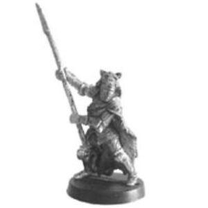 RAL PARTHA Fantasy BEAR CLAN BARBARIAN CHIEF any RPG D&D Pathfinder 01-048 R
