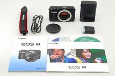 "[Near Mint] Canon EOS M 18.0MP Digital Camera Black From Japan"""