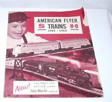 American Flyer 1961-62 Catalog Dealer D-2267 S HO scale 24 pages Paper Vintage