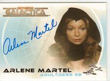 Battlestar Galactica Colonial Warriors Auto Card A22 Arlene Martel as Adultress