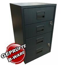 Schubladenschrank Home • 4 Universalschubladen • Bisley PFA4S