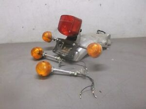 Rear Fender with Taillight and Turn Signals for 1981 Honda CM400