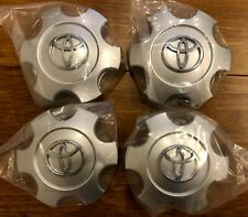 (4) Toyota Tundra Sequoia 2003-2007 Wheel Center Hub Caps 560-69440 Silver
