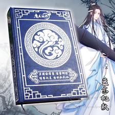 Anime Grandmaster of Demonic Lan wangji Mo Dao Notebook Magic Circle Notepad