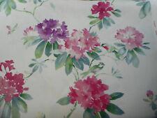 Sanderson Tessuto per Tende 'rhodera' 3.4 metri (340 cm) Blossom - 100% LINO