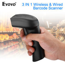 Wireless Bluetooth 2D Barcode Scanner QR Reader for IOS Android Windows 7/8/10