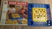 Vintage MB Games Stay Alive board game - retro, 1970s - Used Good Condition