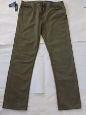 NWT $125 Polo Ralph Lauren Men's Stretch Slim Straight Fit Pants Sz 35x32 Green