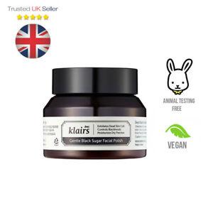 Klairs Gentle Black Sugar Facial Polish Cruelty-Free Korean Skincare - UK SELLER