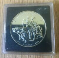 1990 Canada Silver Proof Dollar - Henry Kelsey