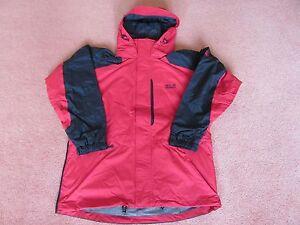 Jack Wolfskin Texapore  Black Range Veste All Weather Coat Jacket Large