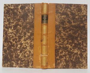 Rejet de l'organologie phrénologique de Gall - Lélut Masson 1843 - 2 pl. cerveau