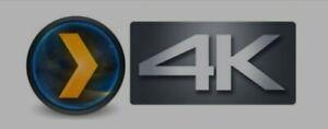 Plex 4K UHD (No Live Channels)