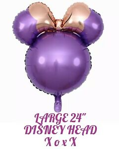 """24"""" Disney Minnie Mouse Birthday Balloons Foil Party Decorations Gender Reveal"""