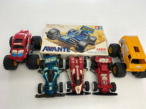 Tamiya Car Selection With Lunchbox Avante Fire Dragon Monster Beetle And Hotshot